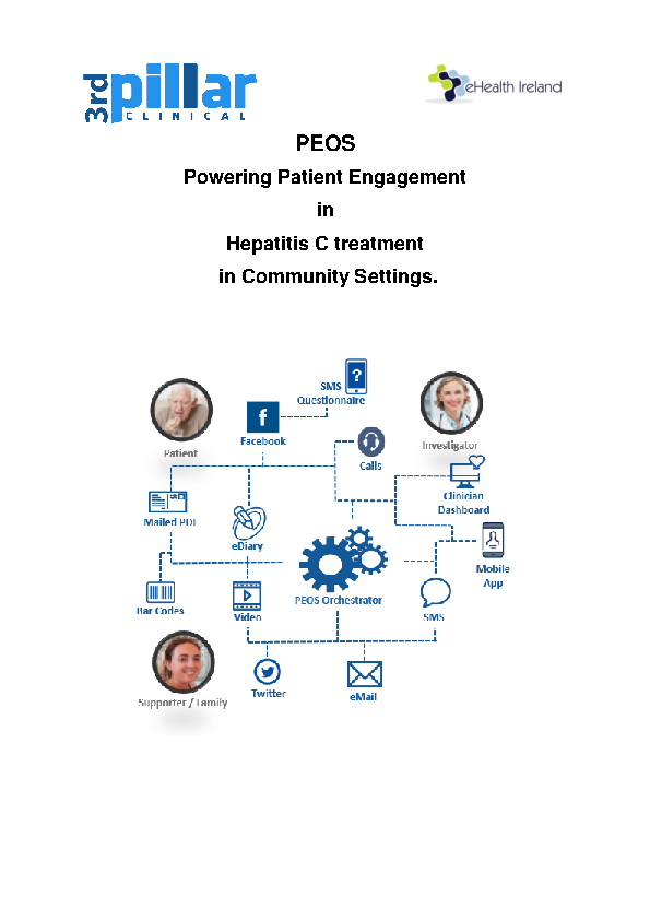 PEOS HepC Case Study  front page preview