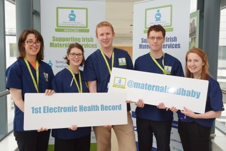 First babies born with an electronic health record - eHealth Ireland