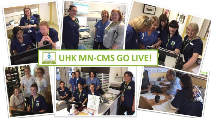 combination of photos from MN-CMS go live UHK