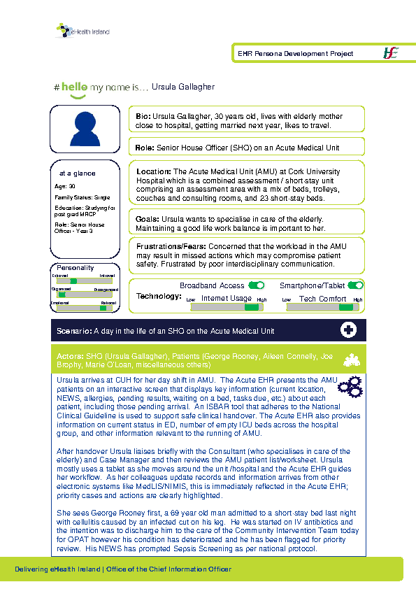 Acute HSP NCHD Ursula Gallagher v1.0 front page preview